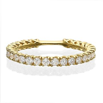 18K Diamond Eternity Ring 0.84 CTW