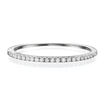 Half Eternity Wedding Band.115 CT TW